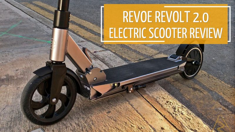 Revoe Revolt Electric Scooter Thumbnail