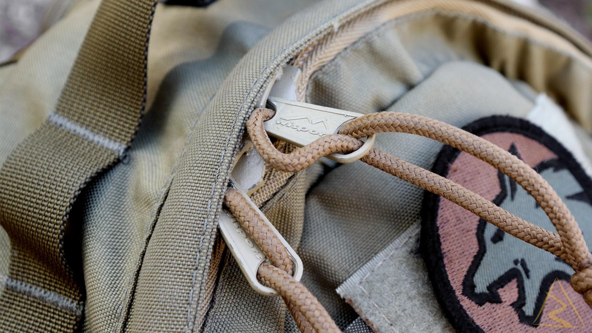 Wisport Sparrow Egg Backpack Zippers