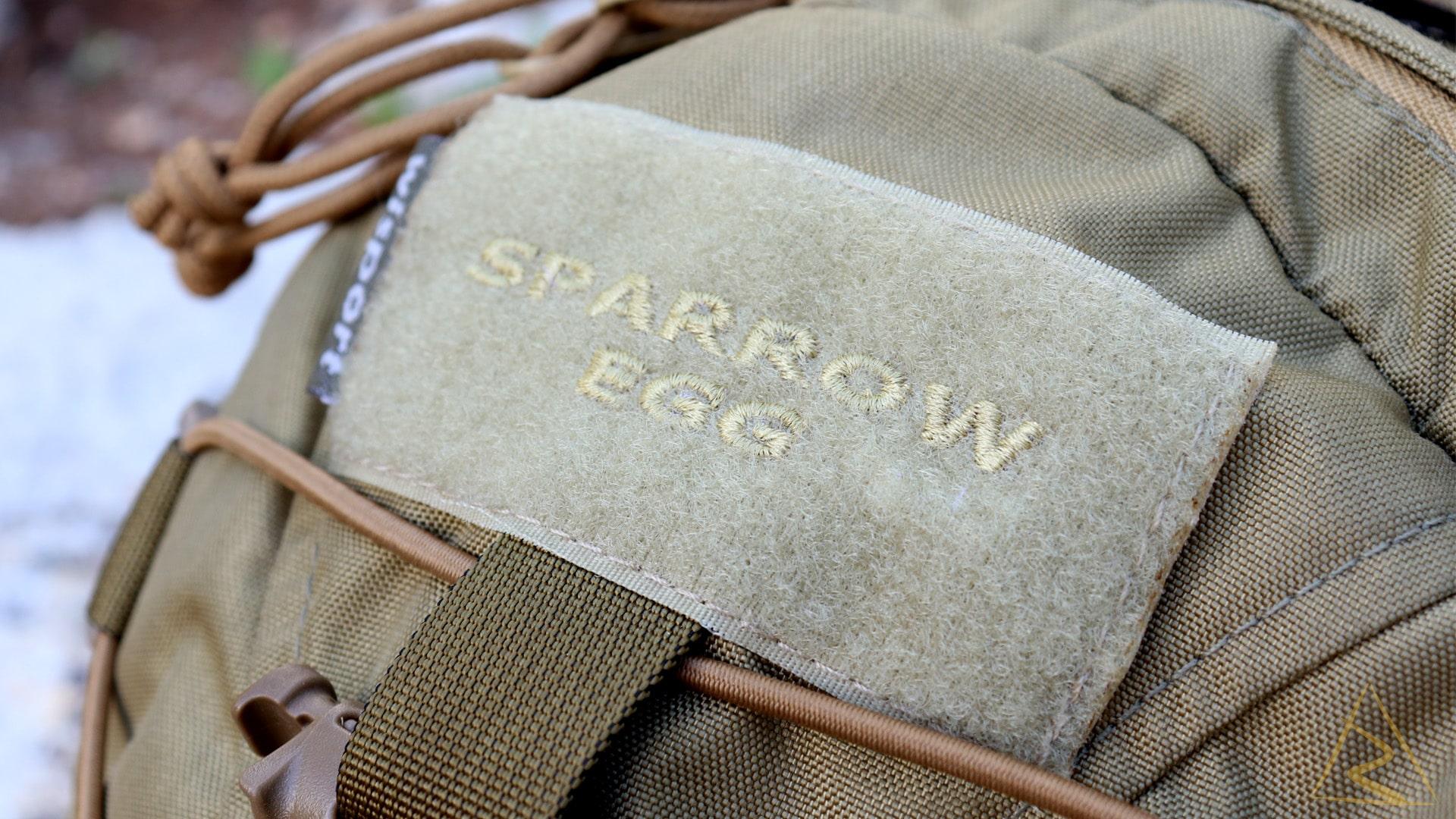 Wisport Sparrow Egg Backpack Velcro