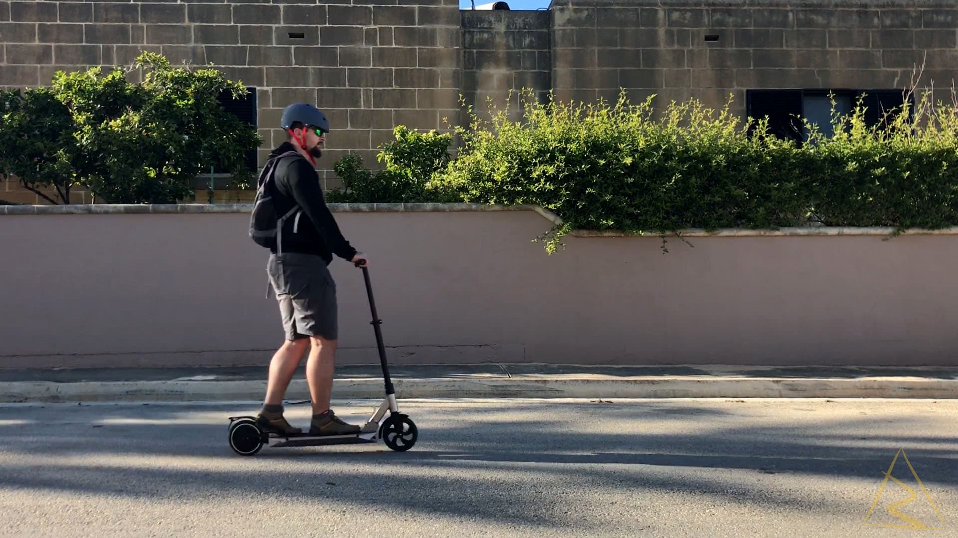 Revolt Revoe Electric Scooter Riding