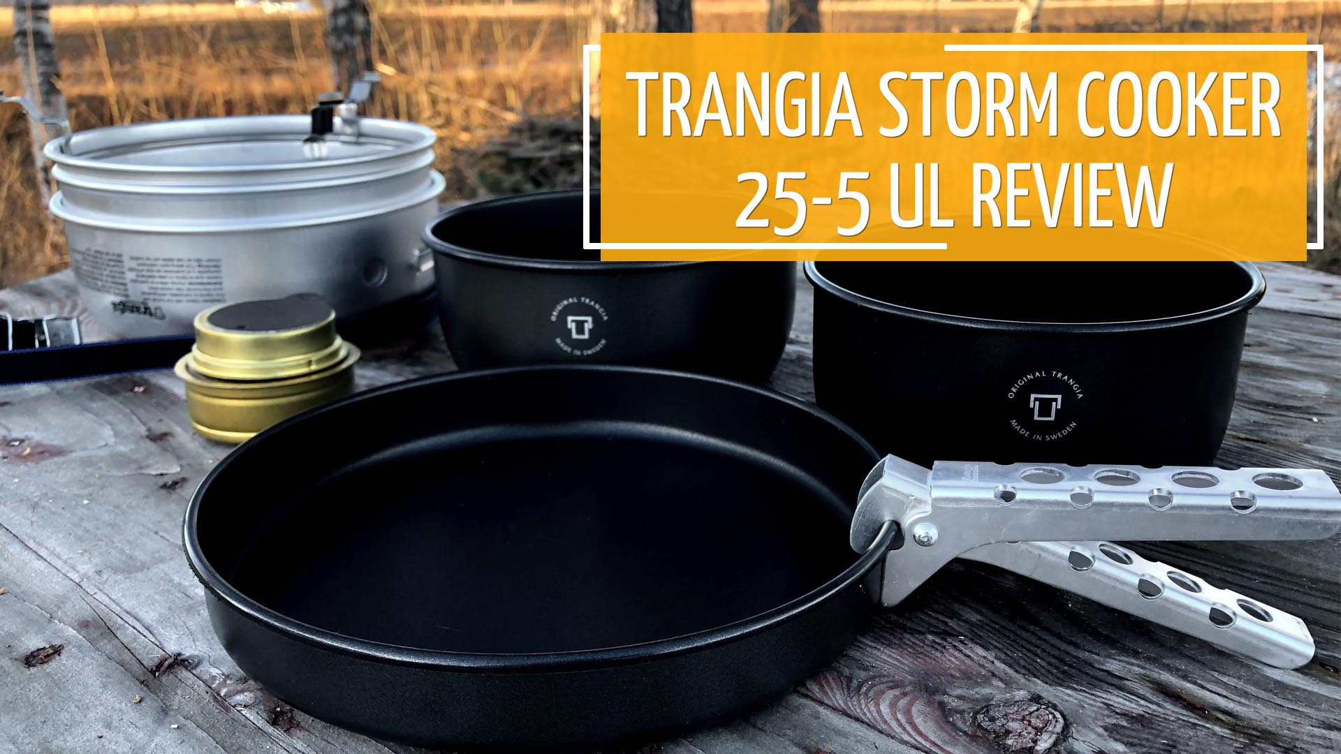 Trangia Storm Cooker 25-5 UL Review